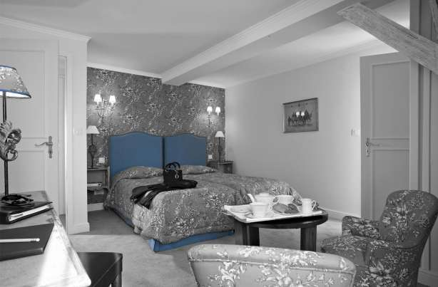 Hotel villa d 39 est official site for Chambre 9m2 lit double